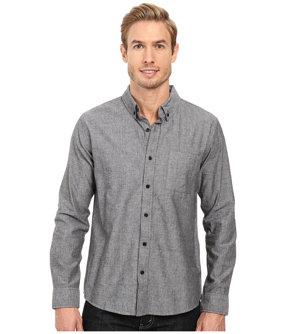 United By Blue - Bryce Button Down (Black) Men's Clothing