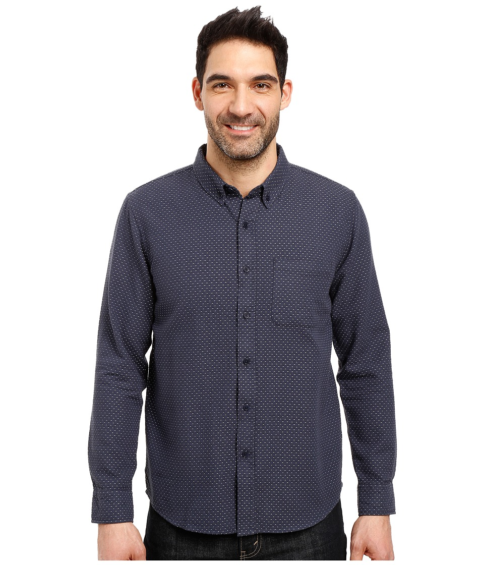 United By Blue - Wrens Dobble Dot (Navy) Men's Clothing