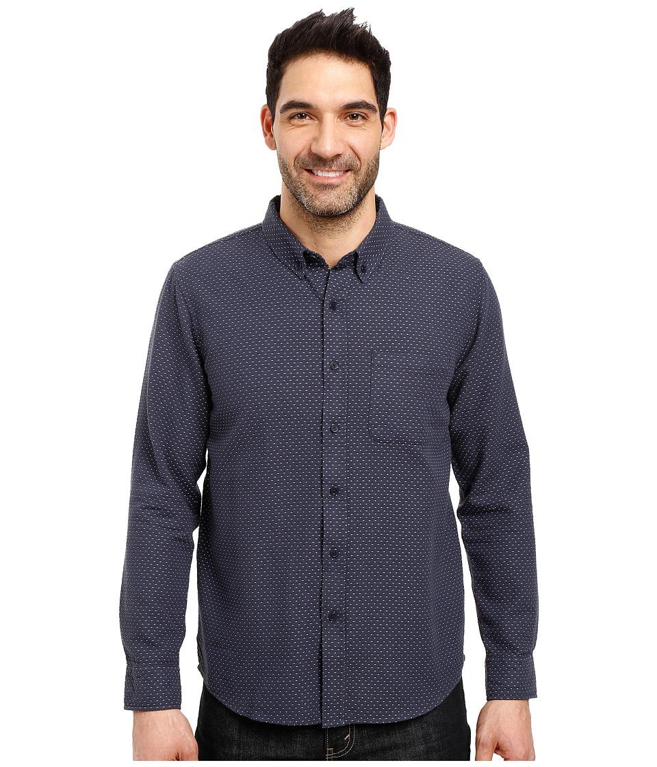 United By Blue - Wrens Dobble Dot (Navy) Men's Clothing