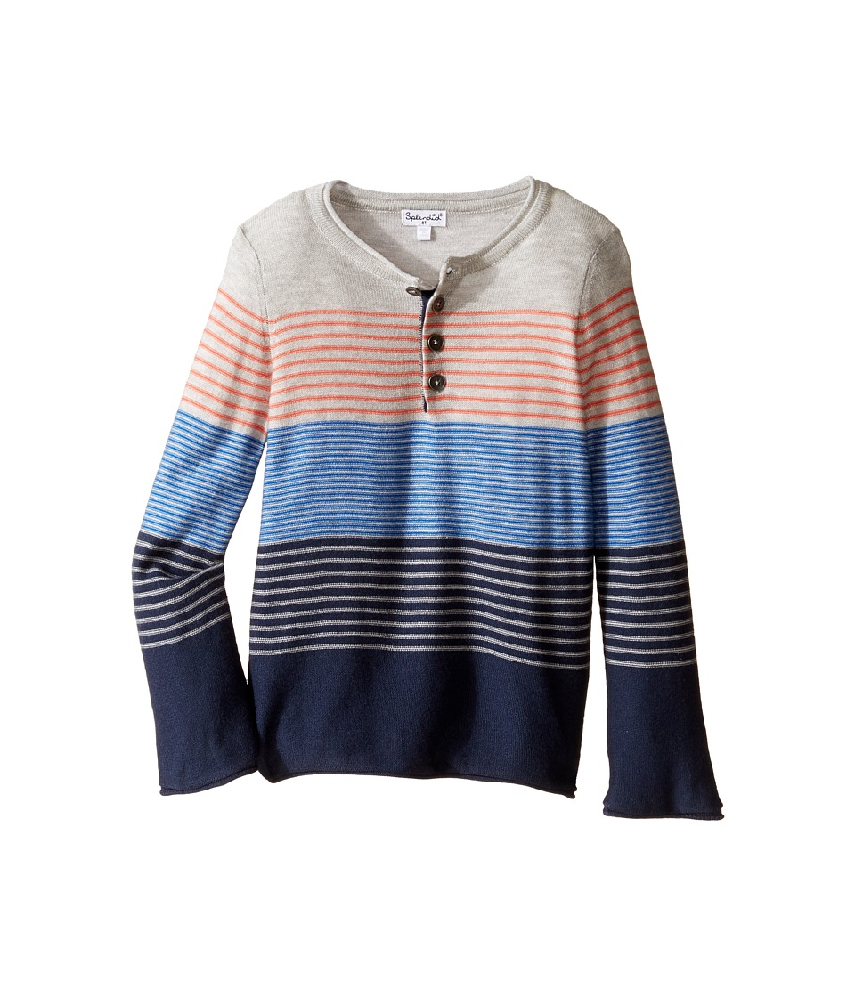 Splendid Littles - Yarn-Dye Stripe Sweater Knit Top (Toddler) (Stripe) Boy's Sweater