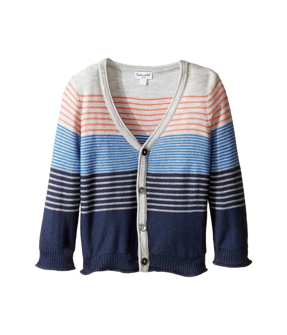 Splendid Littles - Sweater Knit Cardigan (Infant) (Stripe) Boy's Sweater