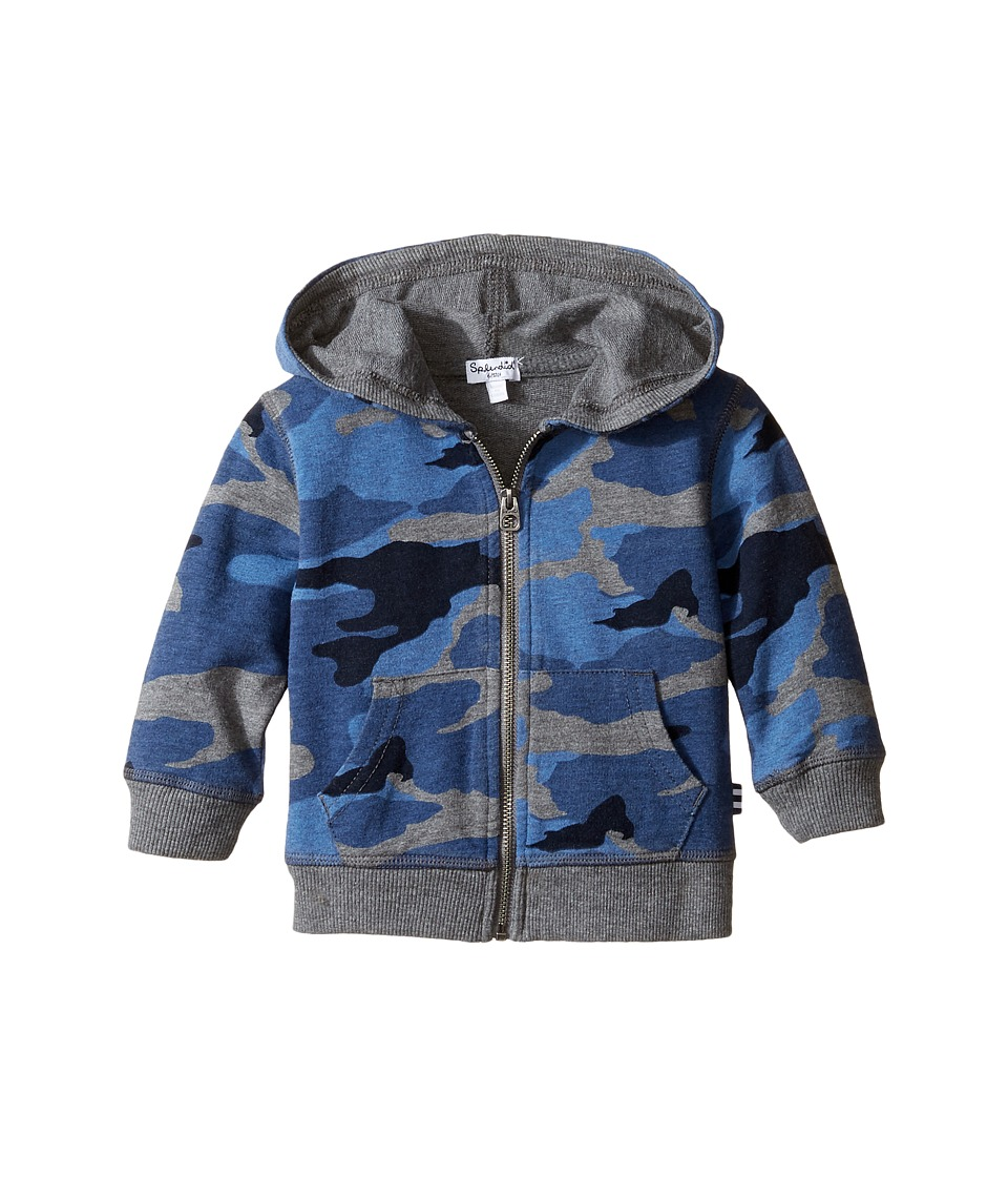 Splendid Littles - Camo Printed Hoodie (Infant) (Multi) Boy's Sweatshirt