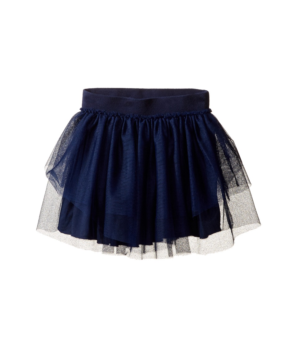 Splendid Littles - Tutu Skirt (Big Kids) (Navy) Girl's Skirt