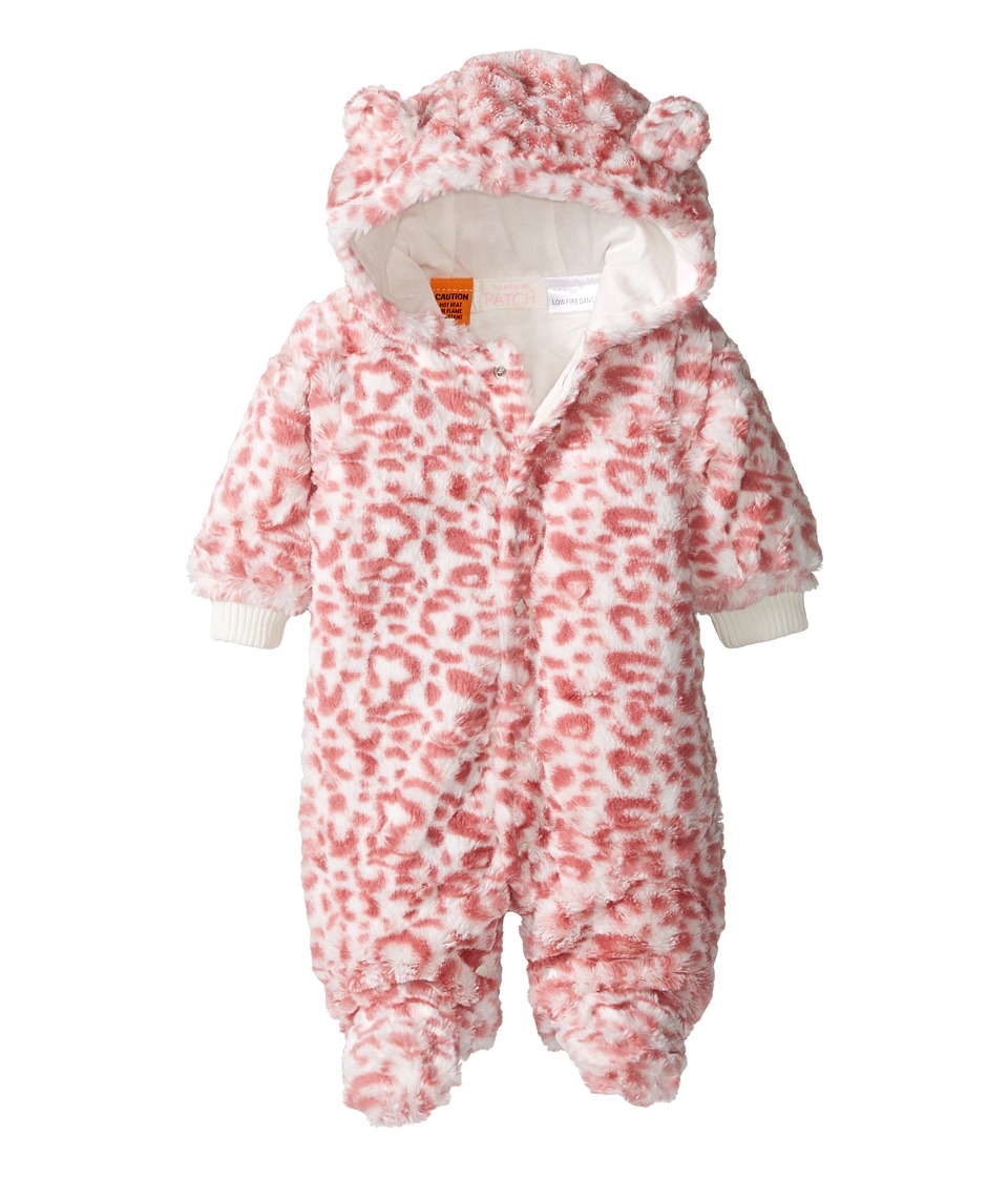 Pumpkin Patch Kids - Print Fluffy All-In-One (Infant) (French Vanilla) Girl's Jumpsuit & Rompers One Piece