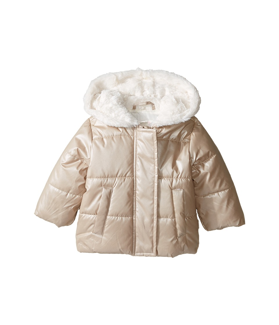 Pumpkin Patch Kids - Rose Gold Puffer Jacket (Infant) (Rose Gold) Girl's Coat