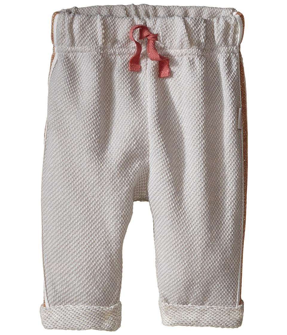 Pumpkin Patch Kids - Side Tape Joggers (Infant) (Micro Chip) Girl's Casual Pants