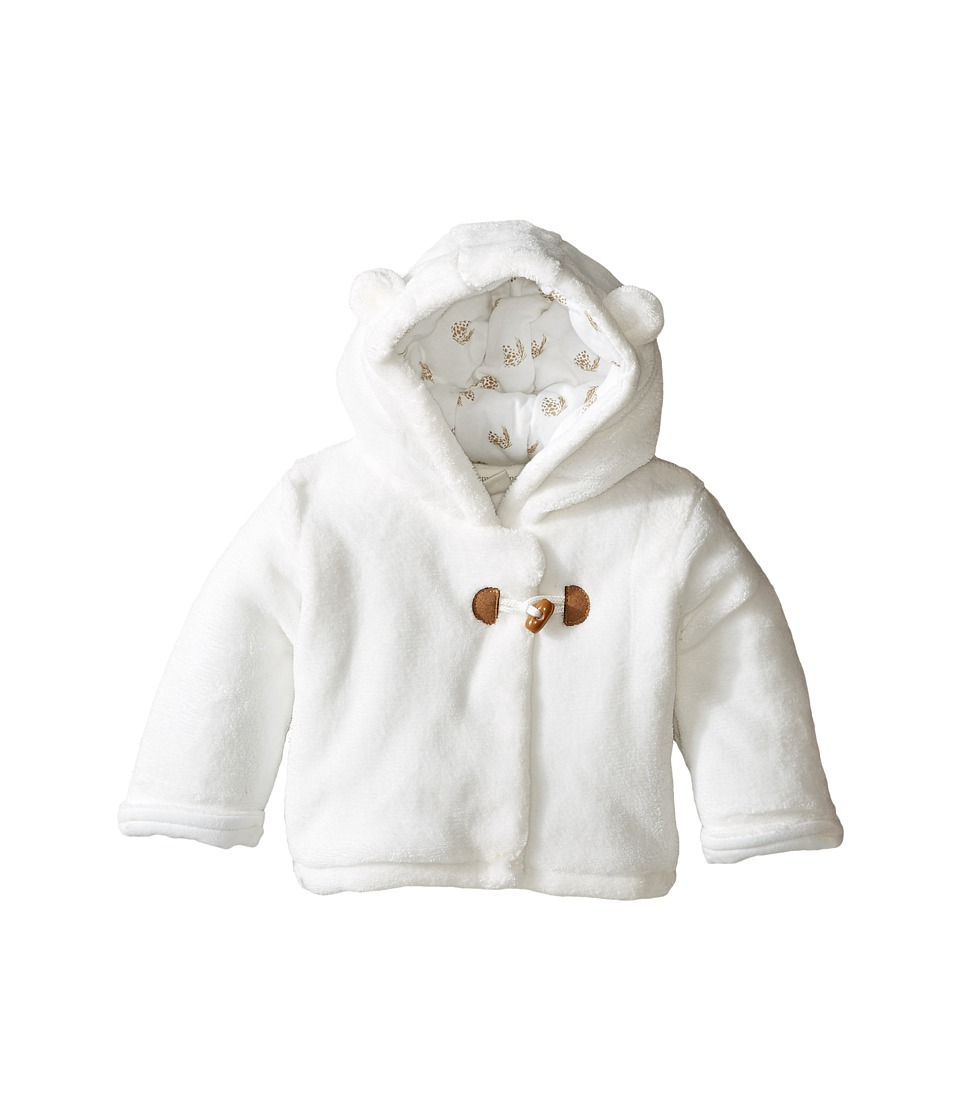 Pumpkin Patch Kids - Padded Fluffy Jacket (Infant) (French Vanilla) Kid's Coat