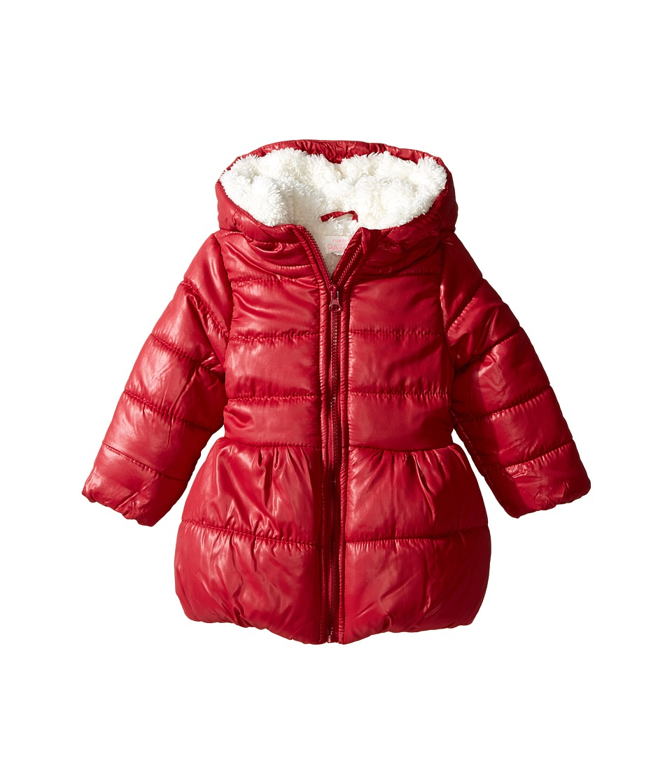 Pumpkin Patch Kids - Puffer Jacket (Infant/Toddler/Little Kids/Big Kids) (Deep Claret) Girl's Coat