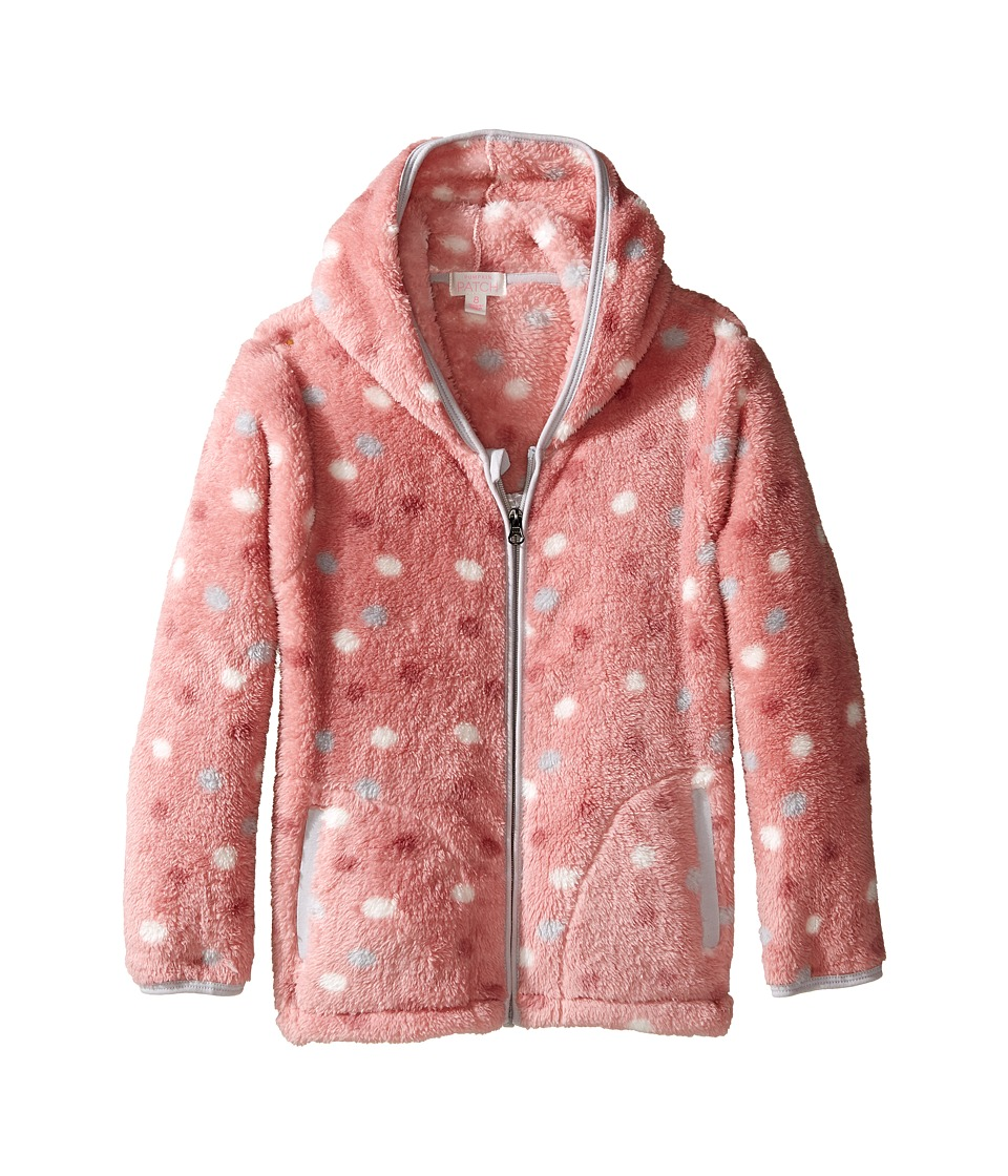 Pumpkin Patch Kids - Fleece Jacket (Infant/Toddler/Little Kids/Big Kids) (Bridal Rose) Girl's Coat