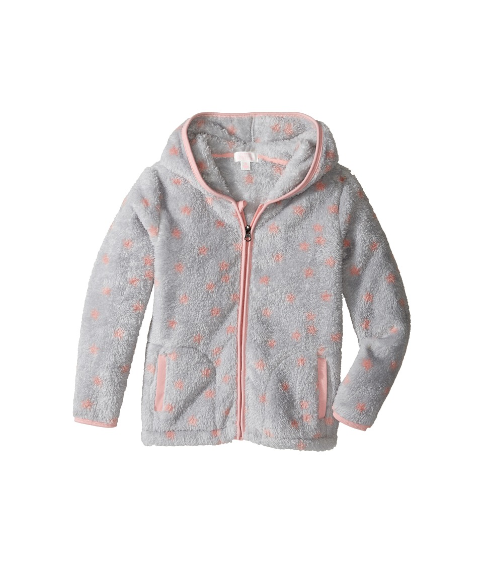 Pumpkin Patch Kids - Fleece Jacket (Infant/Toddler/Little Kids/Big Kids) (Grey Marle) Girl's Coat