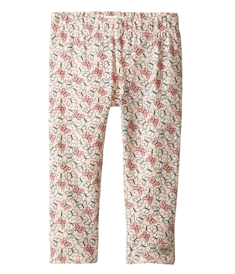 Pumpkin Patch Kids - Lana Printed Full Length Leggings (Infant/Toddler/Little Kids/Big Kids) (Dusty Rose) Girl's Casual Pants