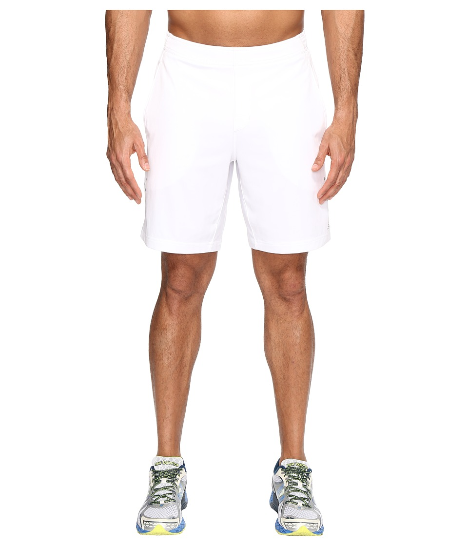 New Balance Tournament 9 Shorts (White) Men
