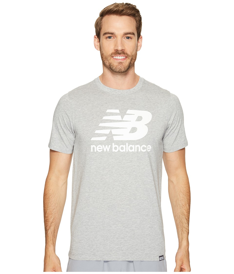 New Balance - Classic Short Sleeve Logo Tee (Athletic Grey) Men's T Shirt