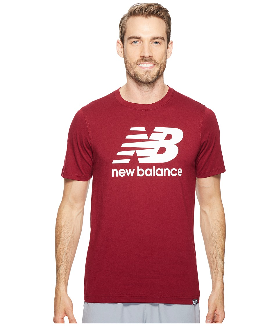 New Balance - Classic Short Sleeve Logo Tee (Admiral Red) Men's T Shirt