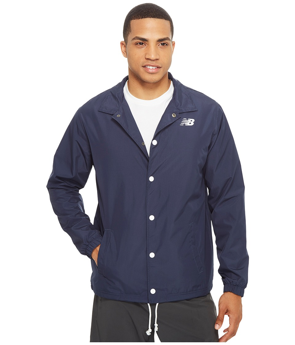 New Balance - Classic Coaches Jacket (Navy) Men's Coat