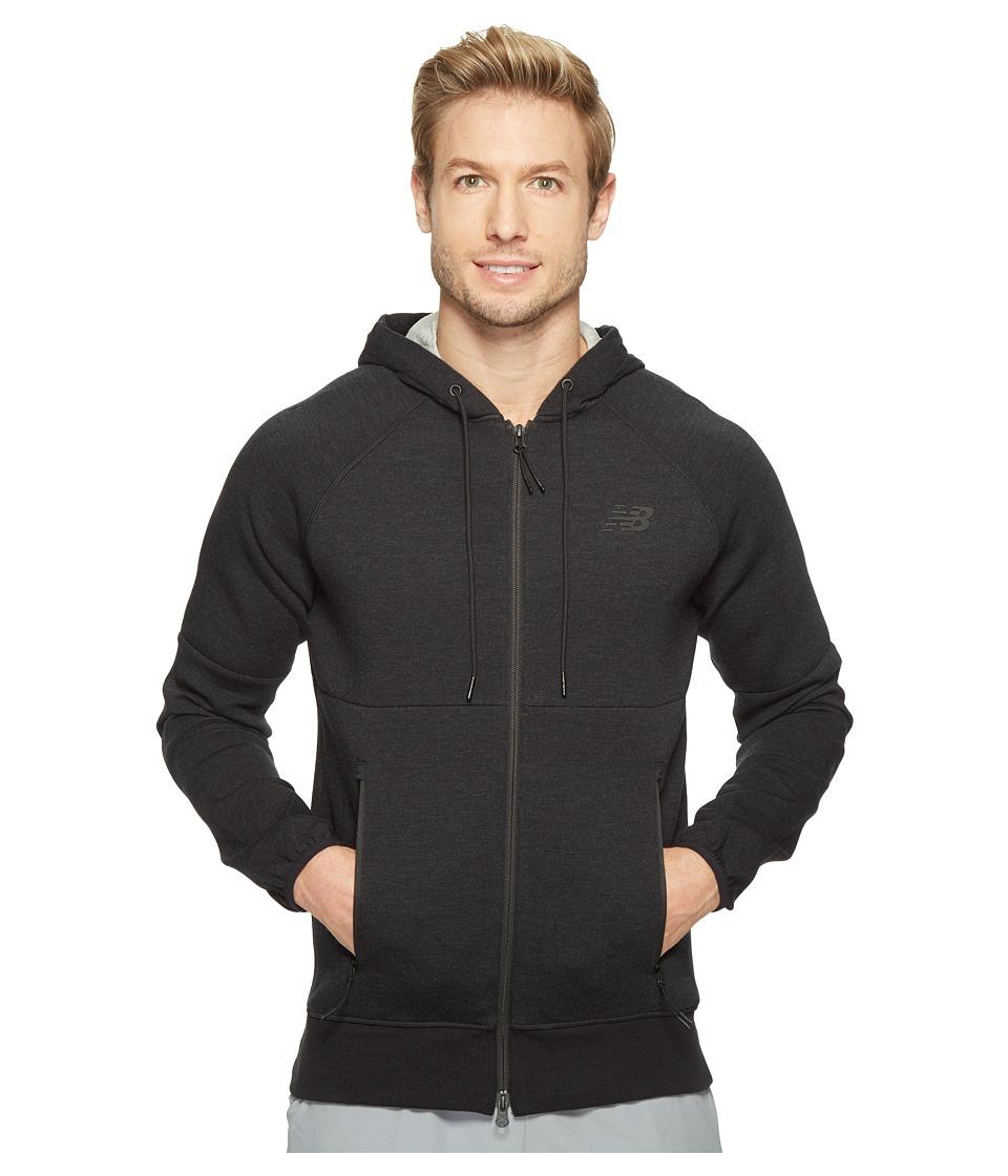 New Balance - Sport Style Full Zip (Black) Men's Sweatshirt