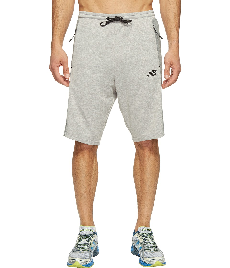 New Balance - 247 Tech Shorts (Athletic Grey) Men's Shorts