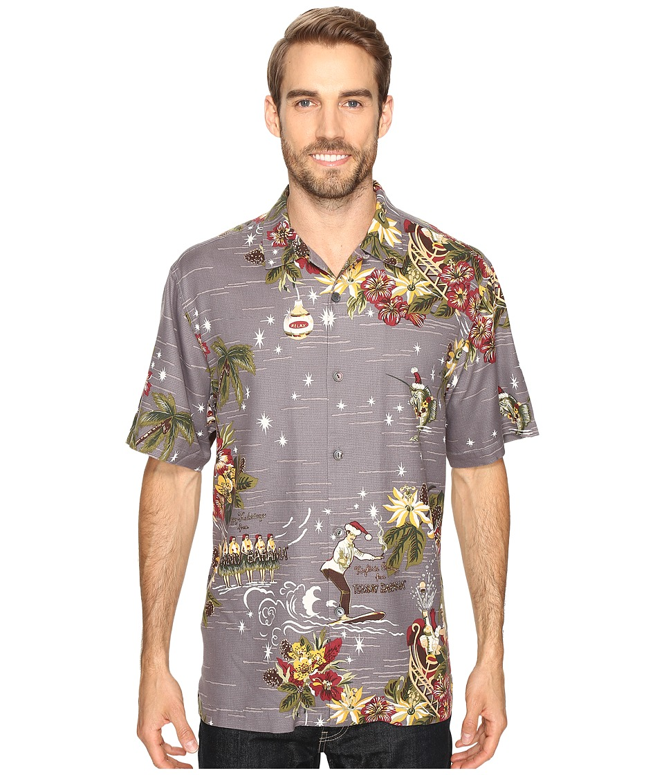 Tommy Bahama - Merry Kitchmas Short Sleeve Woven Shirt (Album) Men's Short Sleeve Button Up
