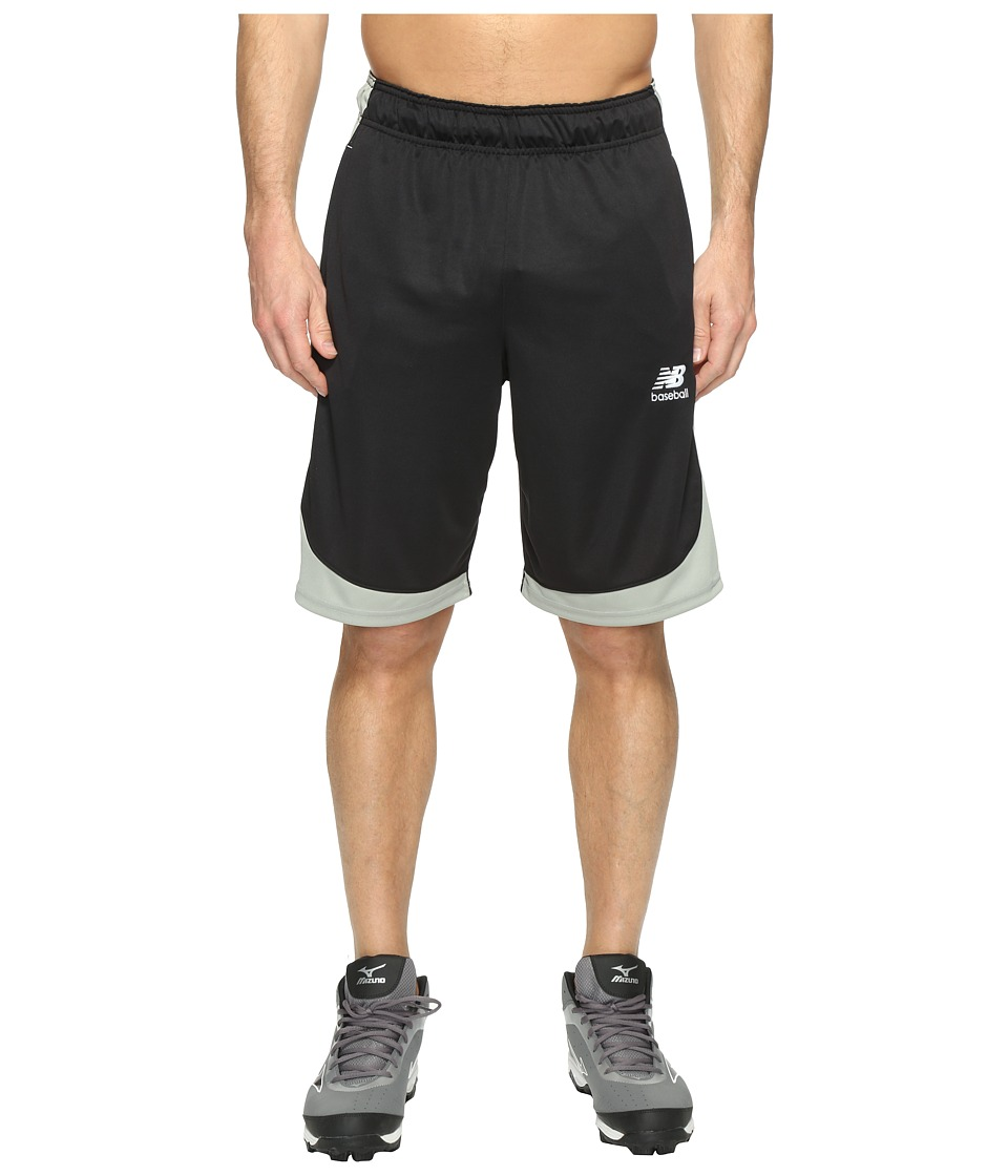 New Balance - Baseball Training Shorts (Team Black) Men's Shorts
