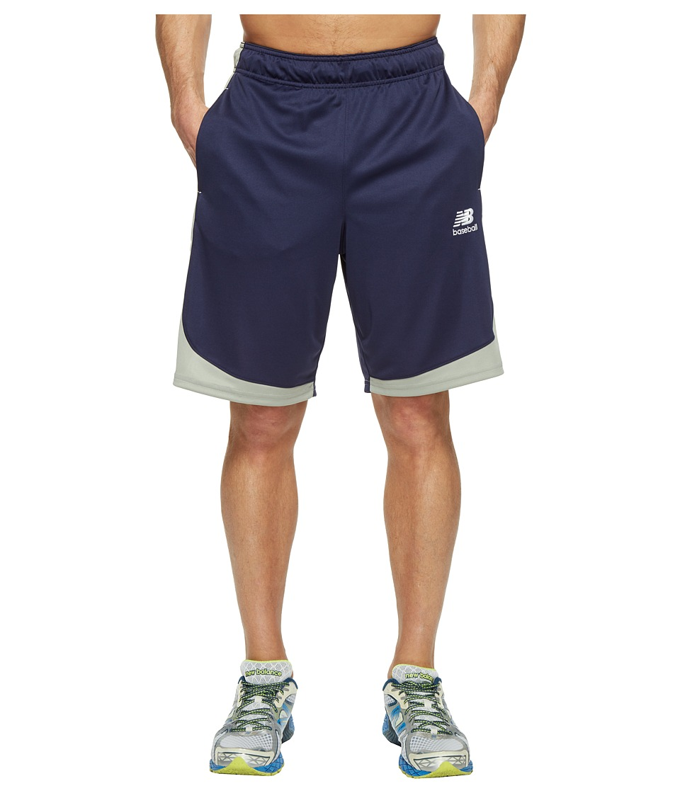 New Balance - Baseball Training Shorts (Team Navy) Men's Shorts