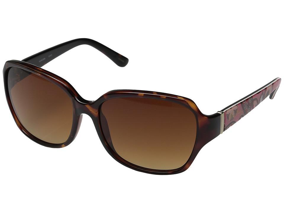 Vera Bradley - Regina (Blush Pink) Fashion Sunglasses