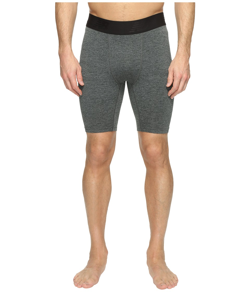 New Balance - Trinamic Shorts (Heather Charcoal) Men's Shorts