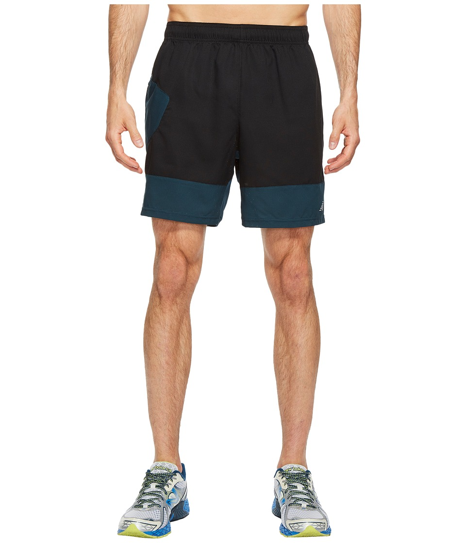 New Balance Hybrid Tech Shorts (Black) Men