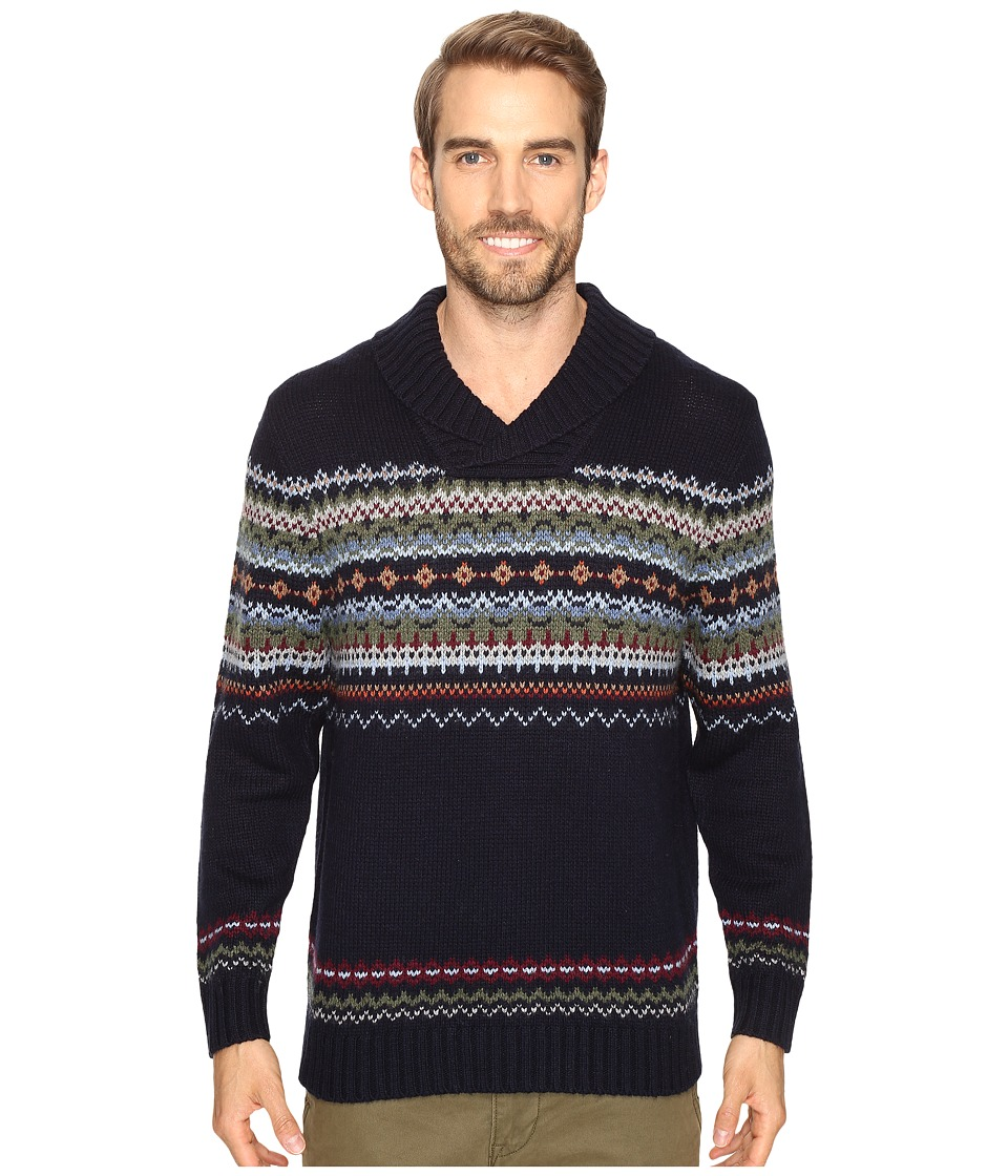 Tommy Bahama - Fair Island Shawl (Coastline) Men's Sweater