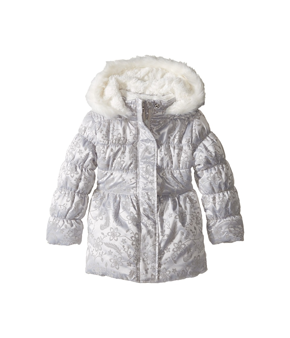 Pumpkin Patch Kids - Flocked Padded Jacket (Infant/Toddler/Little Kids/Big Kids) (Micro Chip) Girl's Coat