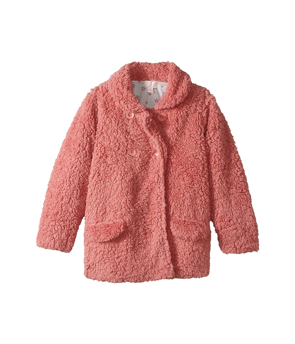 Pumpkin Patch Kids - Dusty Rose Fluffy Jacket (Infant/Toddler/Little Kids/Big Kids) (Dusty Rose) Girl's Coat