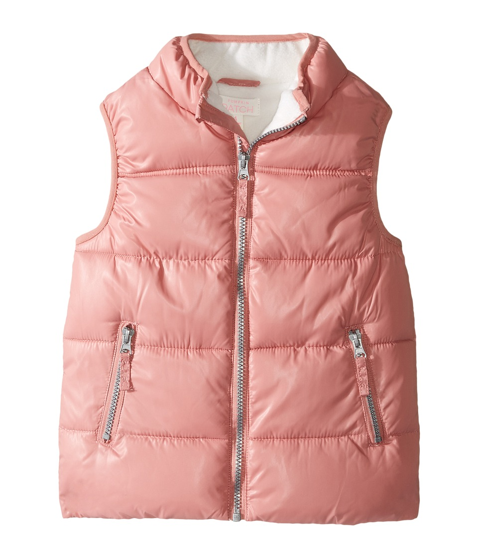 Pumpkin Patch Kids - Padded Vest (Infant/Toddler/Little Kids/Big Kids) (Dusty Rose) Girl's Vest