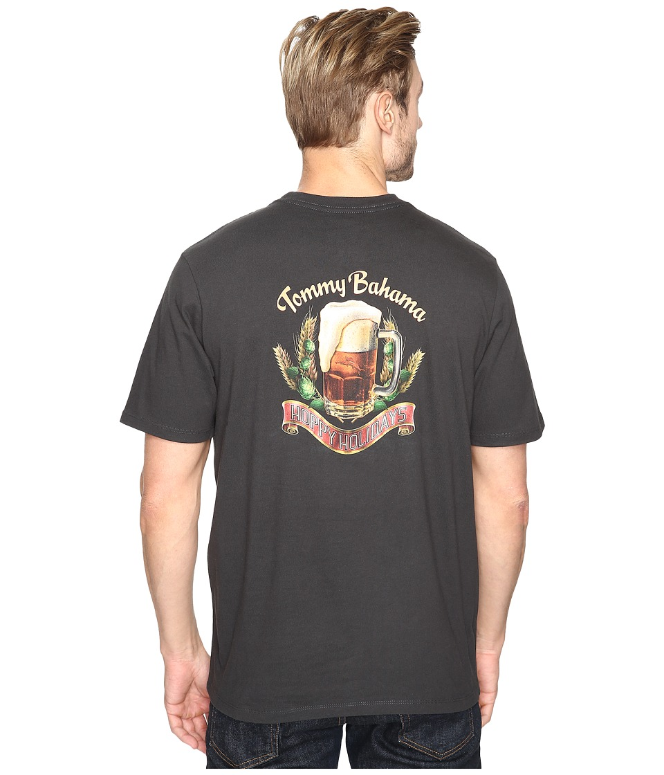 Tommy Bahama - Hoppy Holidays Tee (Coal) Men's T Shirt