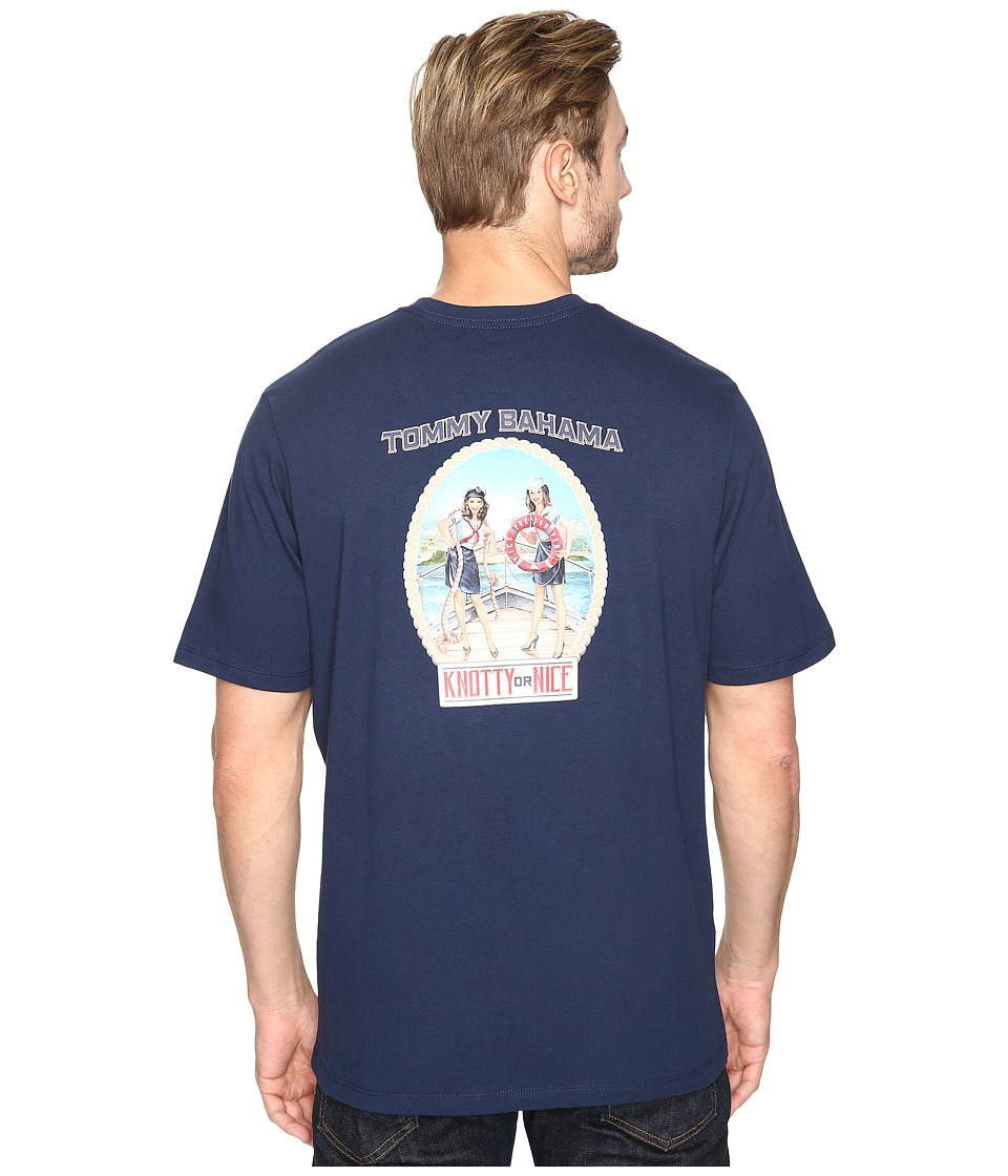 Tommy Bahama - Knotty Or Nice Tee (Navy) Men's T Shirt