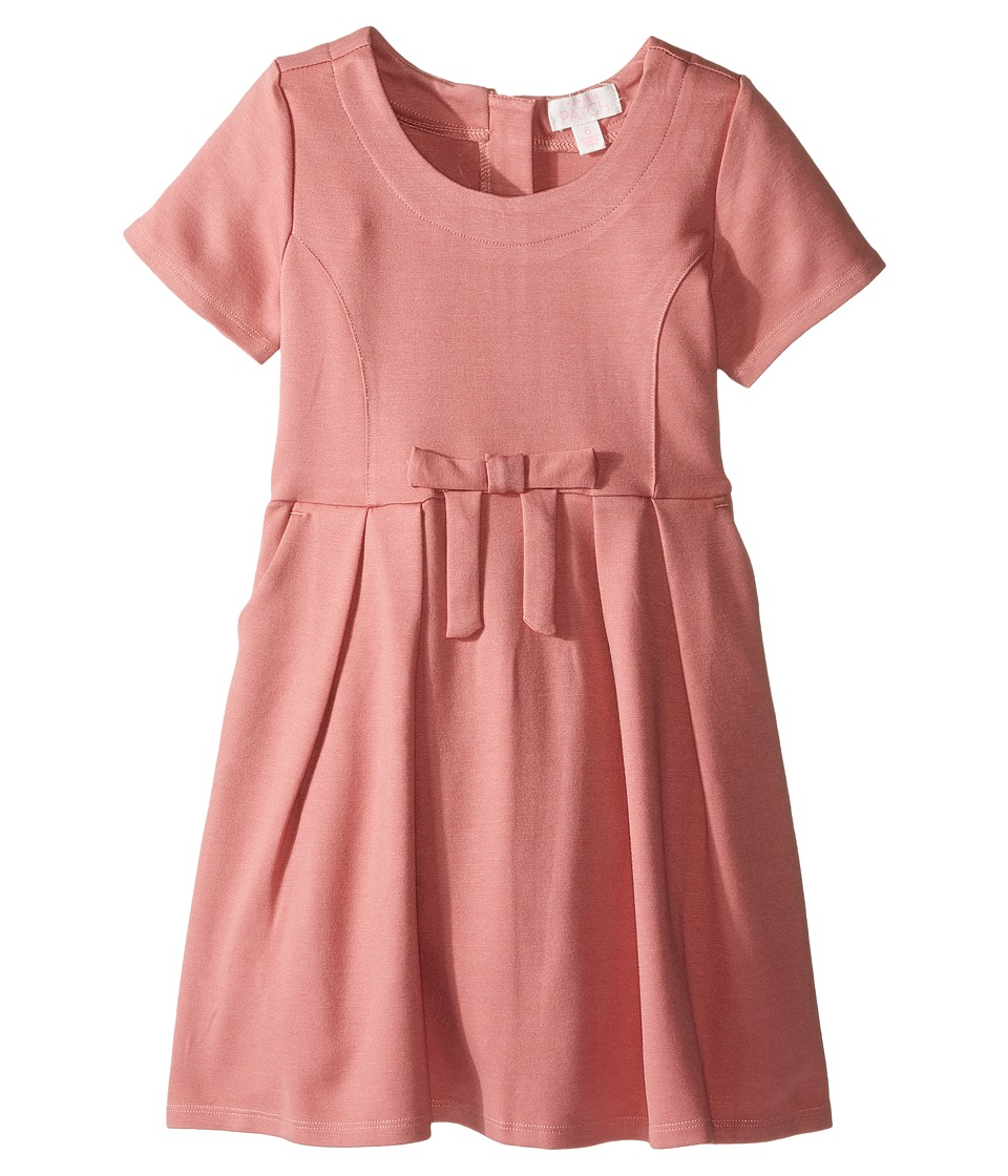 Pumpkin Patch Kids - Ponti Skater Dress (Infant/Toddler/Little Kids/Big Kids) (Dusty Rose) Girl's Dress