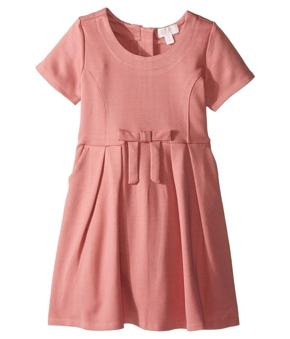 Pumpkin Patch Kids - Ponti Skater Dress (Infant/Toddler/Little Kids/Big Kids) (Dusty Rose) Girl's Dress