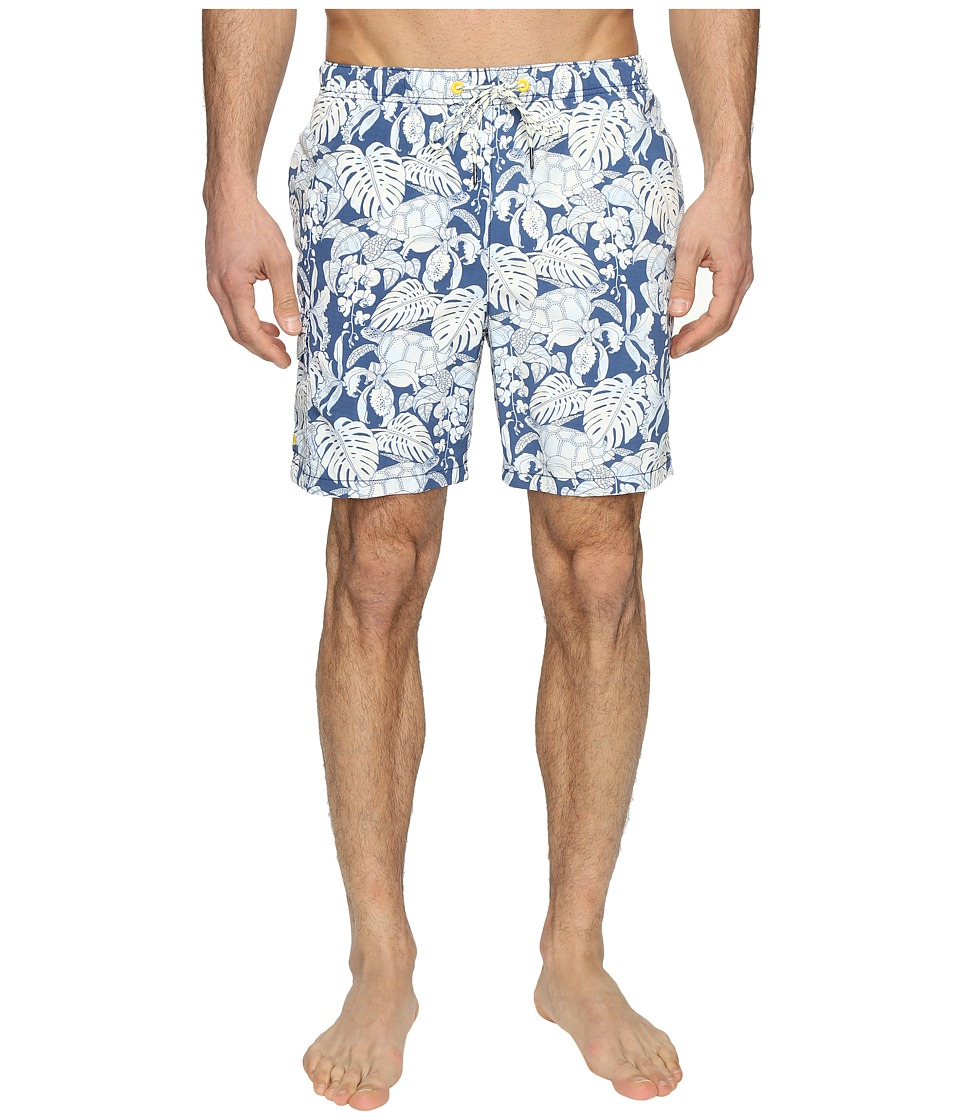 Tommy Bahama - Naples Turtle Cove Swim Trunks (Bering Blue) Men's Swimwear