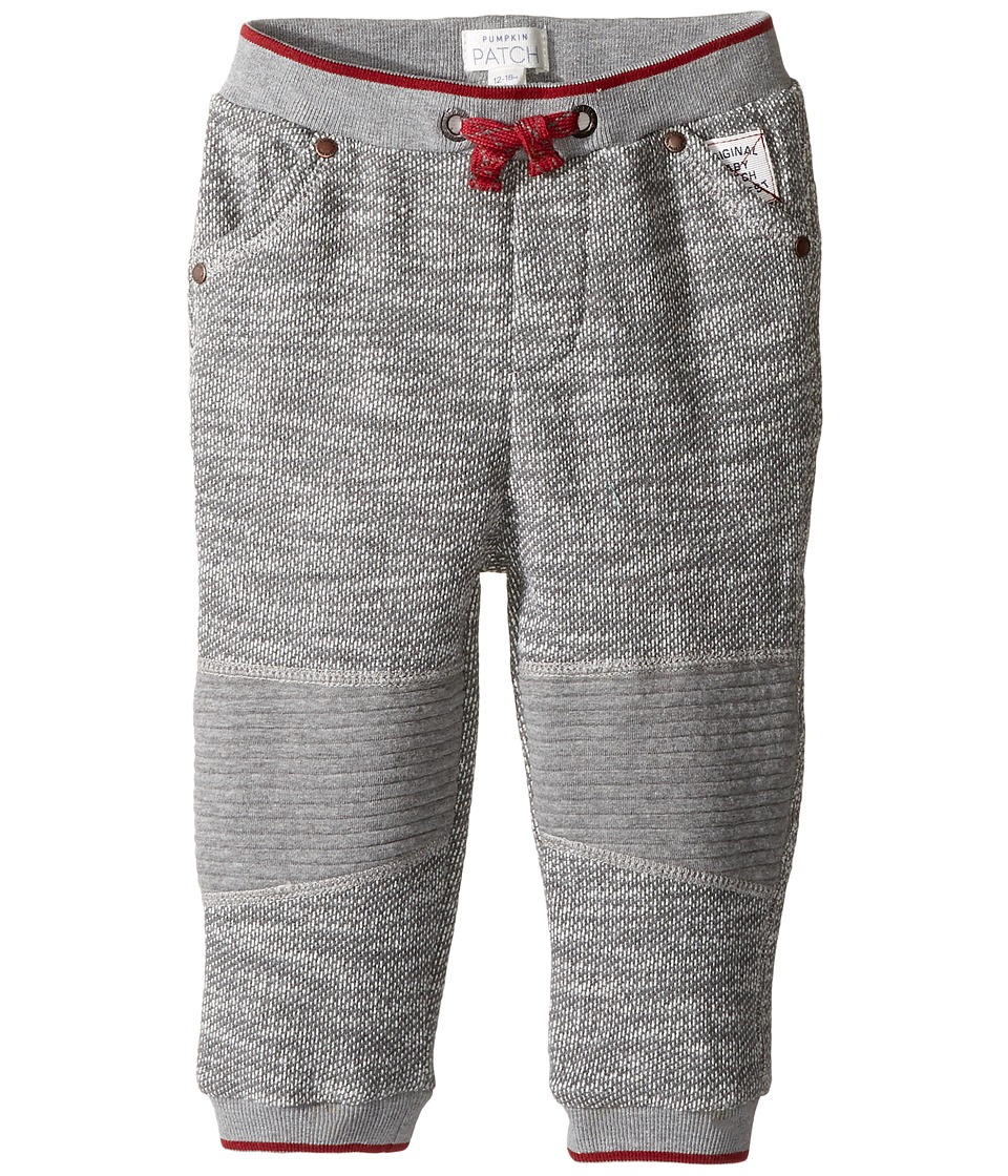 Pumpkin Patch Kids - Knee Panelled Joggers (Infant) (Concrete Marle) Boy's Casual Pants
