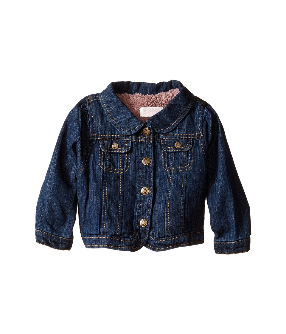 Pumpkin Patch Kids - Denim Jacket (Infant) (Dark Denim) Girl's Coat