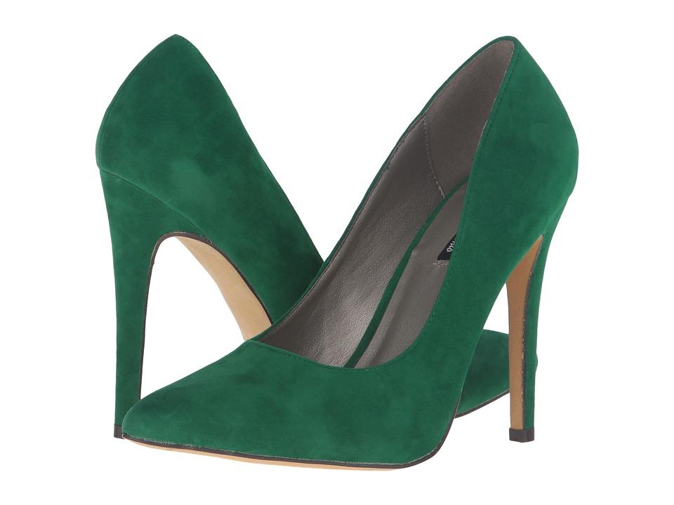 Michael Antonio - Lamiss (Green Suede/Velvet) High Heels