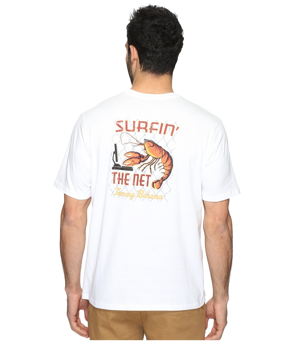 Tommy Bahama - Surfin' the Net Tee (White) Men's T Shirt