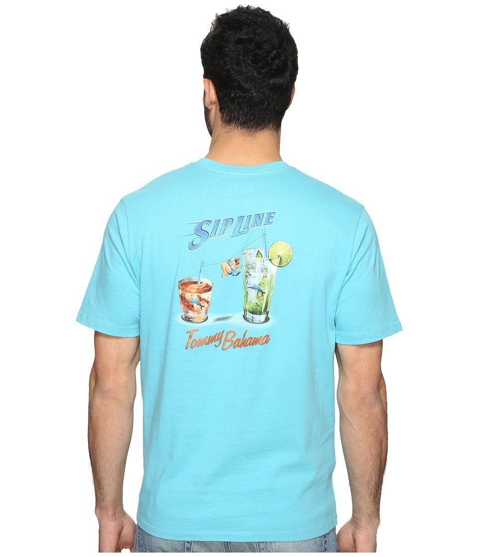 Tommy Bahama - Sip Line Tee (Maui Blue) Men's T Shirt