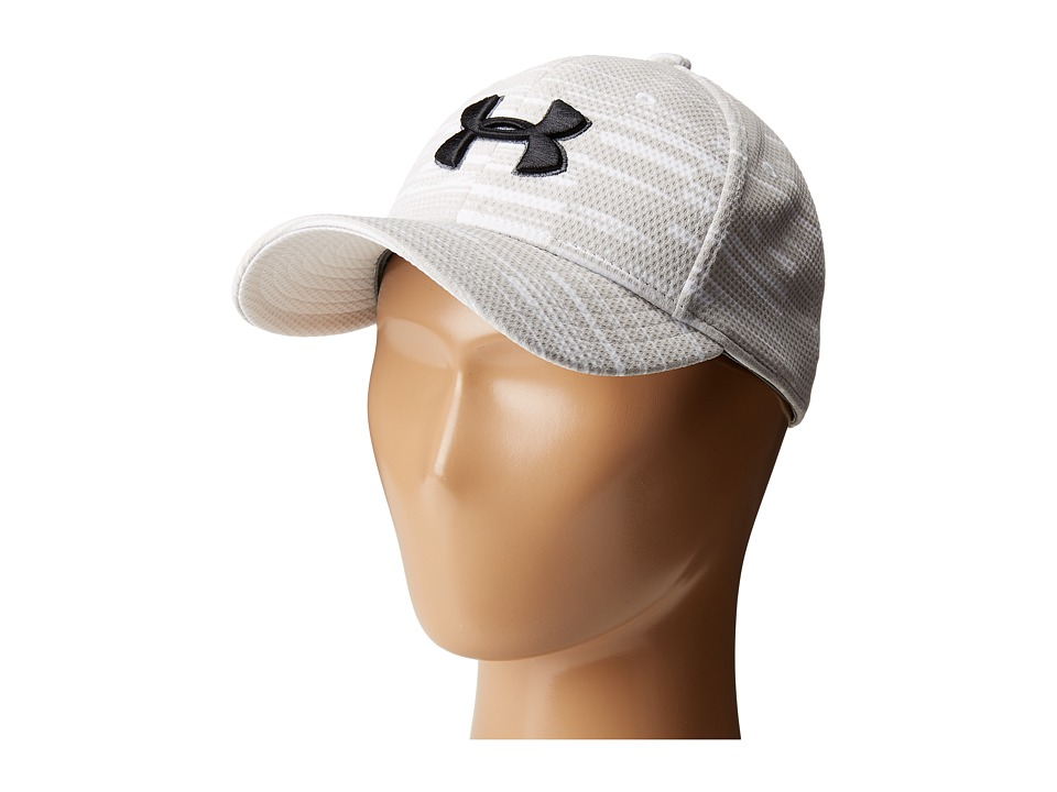 Under Armour - UA Printed Blitzing Cap (Youth) (Nightshade/White/Rhino Gray/Black) Caps