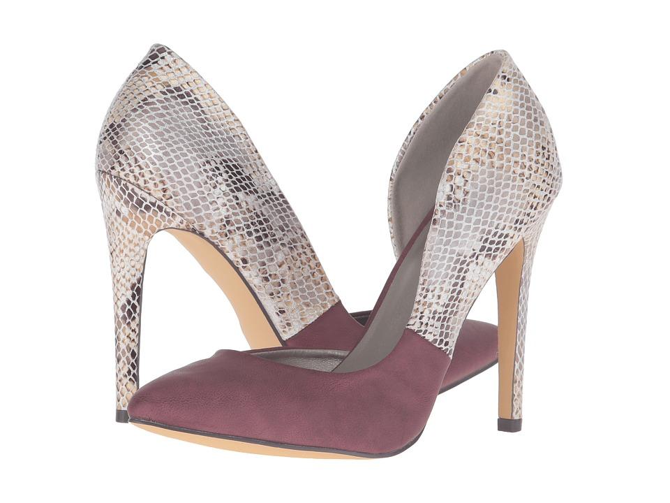 Michael Antonio - Love (Burgundy Reptile) Women's Shoes