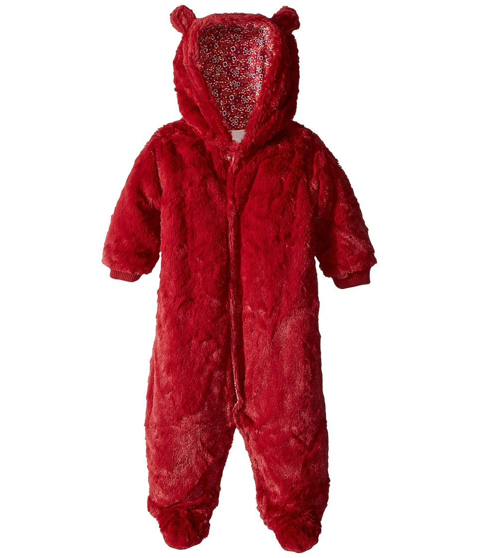 Pumpkin Patch Kids - Fluffy All-In-One (Infant) (Deep Claret) Girl's Jumpsuit & Rompers One Piece