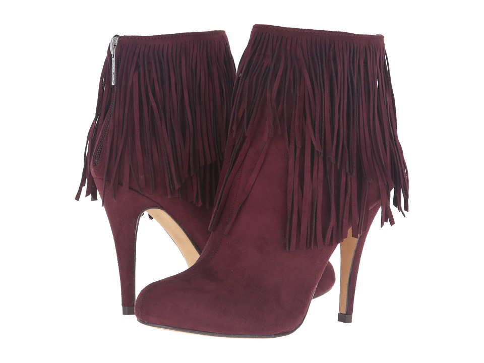 Michael Antonio - Melvins (Burgundy Suede) Women's Dress Boots