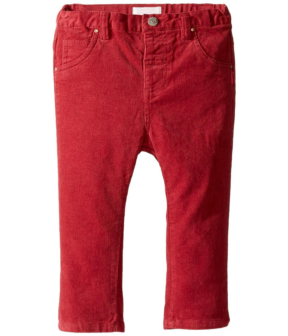 Pumpkin Patch Kids - Stretch Cord Pants (Infant) (Deep Claret) Girl's Casual Pants