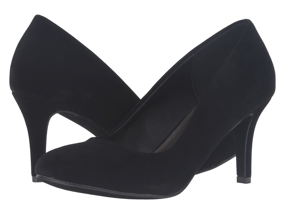 Michael Antonio Finnea (Black Suede/Velvet) High Heels