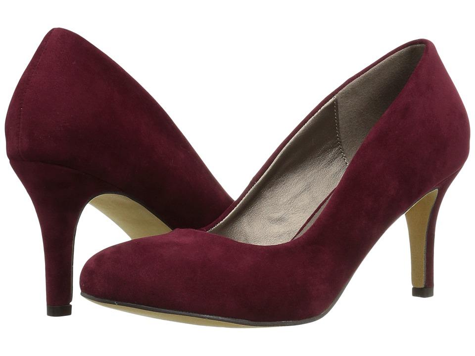 Michael Antonio Finnea (Burgundy Suede/Velvet) High Heels
