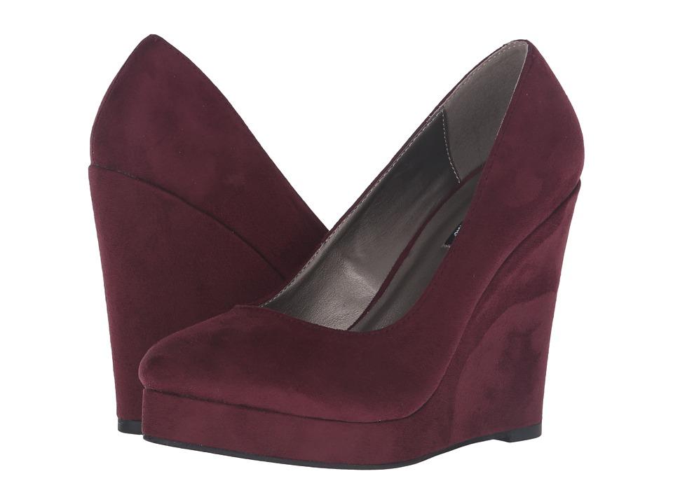 Michael Antonio - Avalon (Burgundy) Women's Wedge Shoes