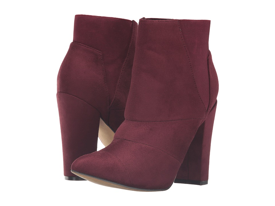 Michael Antonio - Louis (Burgundy Suede) Women's Dress Boots